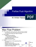 Pre Flow Push alg