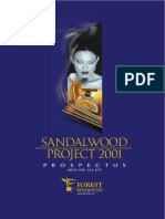Sandalwood Project Report