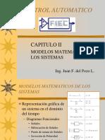 2 Modelos Matematicos de Los Sistemas