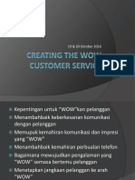 Creating the WOW Customer Service.pptx