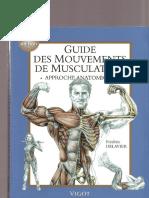 Frederic Delavier-Guide Des Mouvements de Musculation, 3e Edition. Approche Anatomique-Vigot Maloine (2001)