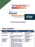 Shubh Retirement Refresher
