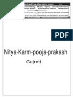 Nitya Karm Pooja Prakash Gujrati