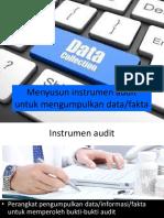 Menyusun Instrumen Audit