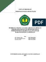 6. Budidaya Udang Vanamie Air Payau Dengan Teknik Kincir Dalam Meningkatkan Perekonomian Di Desa Kalanganyar Karanggeneng Lamongan