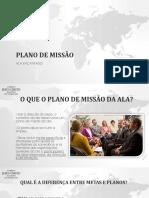 Plano de Missão - Ala Encantado