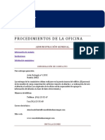 Justificar Documento