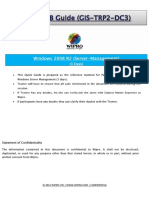 GIS WINTEL-TRP2 Quick LAB Guide-Server Management
