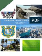 Informe de La Cantera Quispe