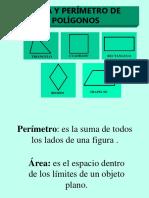Area y Perimetro de Poligonos
