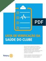 Rotary Club Health Check Pt