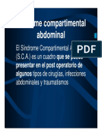 Sindromecompartimental Abdominal