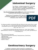 Perioperative Use of Intravenous Lidocaine