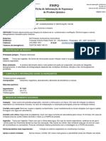 FISPQ Limpador de Sistema de Ar Condicionado e Ventilação 100ml - Thilex