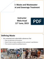 Chapter 3 Waste and Wastewater Management