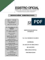 2014 _ Estatuto Orga´nico de Gestio´n Organizacional por Procesos (1)
