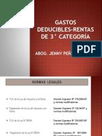 Gastos Deducibles-unv.garcilaso PDF