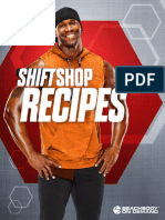SHIFT SHOP Recipe Booklet