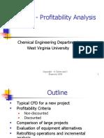 Chapter 10 - Profitability Analysis