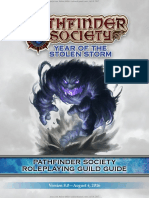 Pzopss0000e Pathfinder Society Organized Play Season 8 Guide