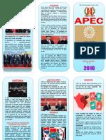 Triptico de APEC