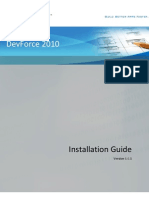 DevForce Installation Guide