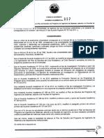 Acuerdo Académico No. 057 de 2012
