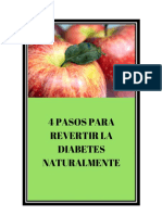 4 Tips Para Revertir La Diabetes Rapidamente