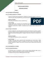 4. Especificaciones Técnicas Reservorio