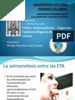 Salmonelosis _ Aspectos Epidemiológicos de América Latina