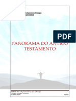 (04) Panorama Do Antigo Testamento