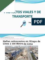 3. Exposicion Proyectos Viales y de Transporte- InG. WALTER IBAÑEZ