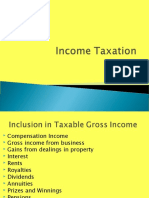 Income Taxation Lecture 5