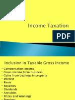 Income Taxation Lecture 5
