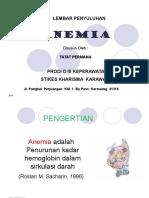 Lembar Balik Anemia