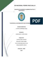 Funciones de La DFI