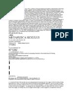 Julius Evola - Metafizica sexului.doc
