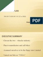 Marketing Project - 222 Cc Bike VEGA