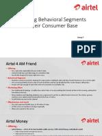 Targeting Behavioral Segments in Their Consumer Base