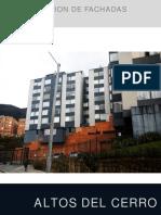 Presentación, propuesta de remodelación para fachada.