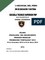 silabodesarrolladopsicologiadeldelincuente2012-130121140447-phpapp01