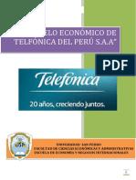 (Modelo Económico de Telefónica s.a)