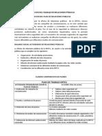 Evaluacion Del Trabajo de Relaciones Públicas Drtcc