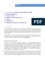 Newsletter SEP y SEPB Num 84