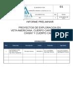 Informe Proyectos Casapalca 2014