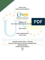 Proyecto Final Sistemas de Gestion Ambiental Grupo 4