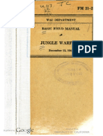 FM 31-20 Jungle Warfare (1941)