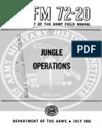 FM 72-20 Jungle Operations (1954)