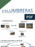PRESENTACION ESCOMBRERAS MINERIA