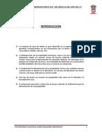 Informe de Mecanica de Rocas II